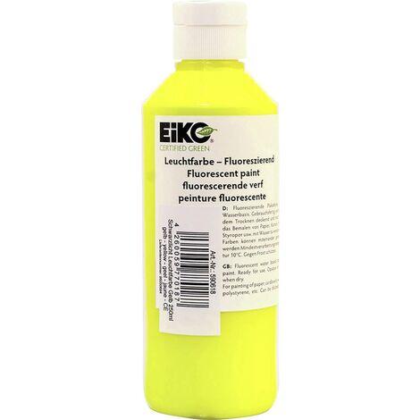 """main image of """"Peinture fluorescente pour lumière noire EiKO jaune 250 ml S07896"""""""