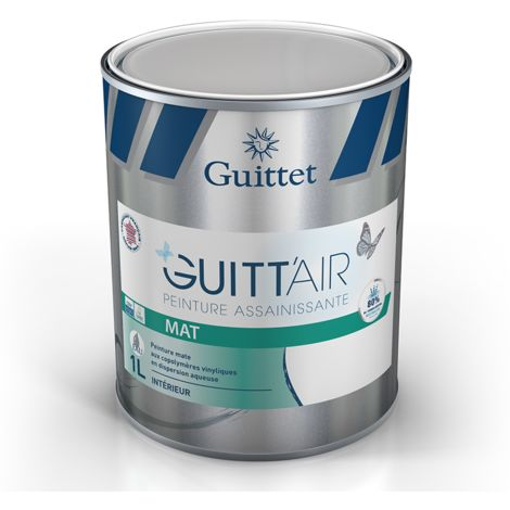 Peinture Guitt'Air mat 1L Blanc | Finition: Mat - Couleur: Blanc