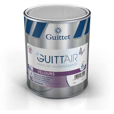 Peinture Guitt'Air velours 1L Blanc | Finition: Velours - Couleur: Blanc