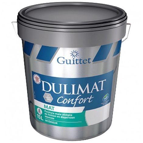 Peinture Guittet Dulimat Confort 15L Blanc | Finition: Mat - Couleur: Blanc
