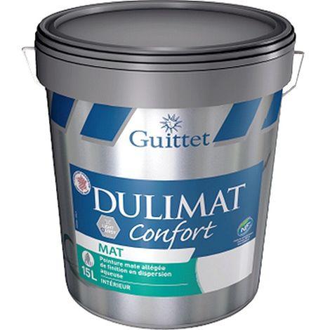 Peinture GUITTET Dulimat Confort BLANC 15L | 15 Litres