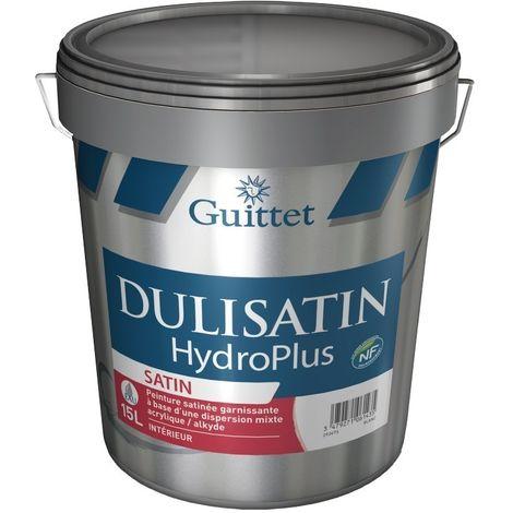 Peinture GUITTET Dulisatin Hydroplus 15L BLANC | 15 Litres