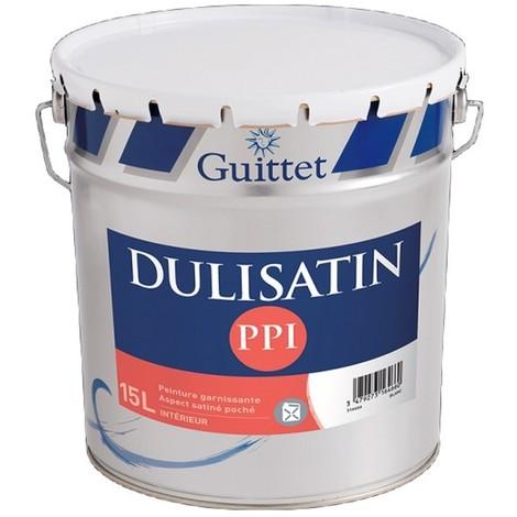 Peinture GUITTET Dulisatin PPI Satinée BLANC