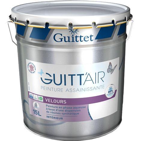 Peinture GUITTET Guitt'Air intérieur depolluante Velours BLANC