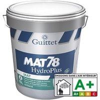 Peinture GUITTET Mat 78 Hydro plus BLANC
