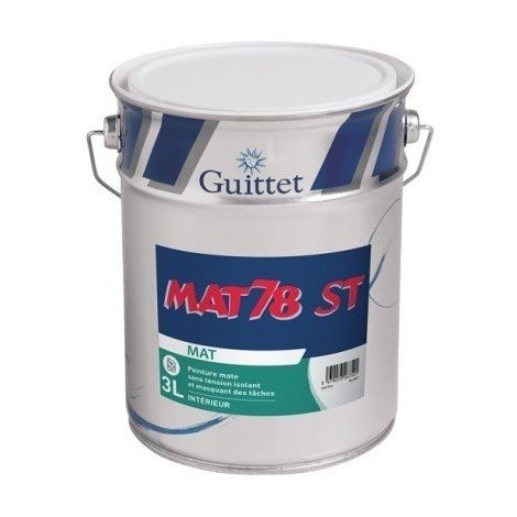 Peinture GUITTET MAT 78 ST BLANC
