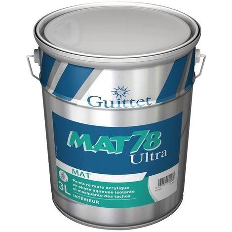 Peinture GUITTET Mat 78 Ultra BLANC