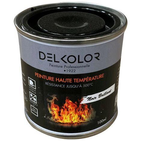 Peinture Haute température Noir Brillant 100ml | Couleur: Noir
