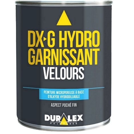 Peinture intérieur murs et plafonds DURALEX DX-G Hydro Garnissant Velours