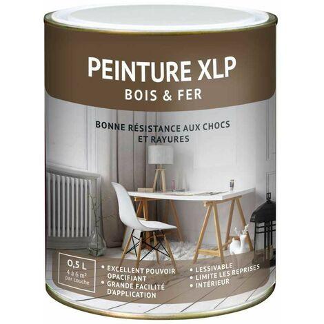 PEINTURE INTÉRIEURE BOIS ET FER - PEINTURE XLPMastic Satin - Bidon de 2,5 L - Mastic