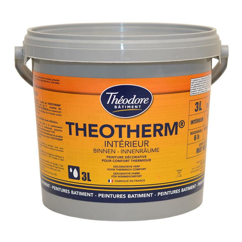 Peinture Isolante Thermique Intérieure Finition Velours Pour Murs Et Plafonds Theotherm Intérieur