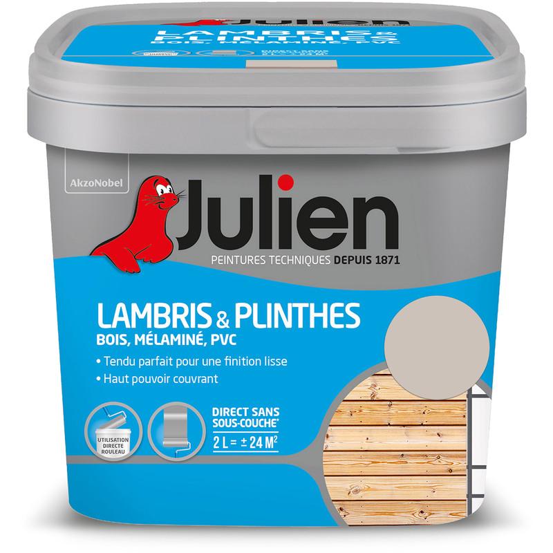 Peinture Lambris Plinthes Satin Grain De Sable 2 L Julien 5245457