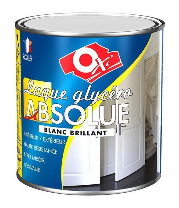 Peinture Laque Absolue Blanc Satin 05l Oxi Oxlabs5bs