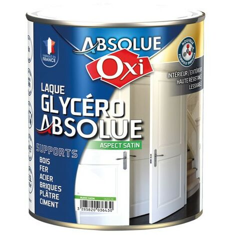 LAQUE ABSOLUE BLANC SATIN 2.5L