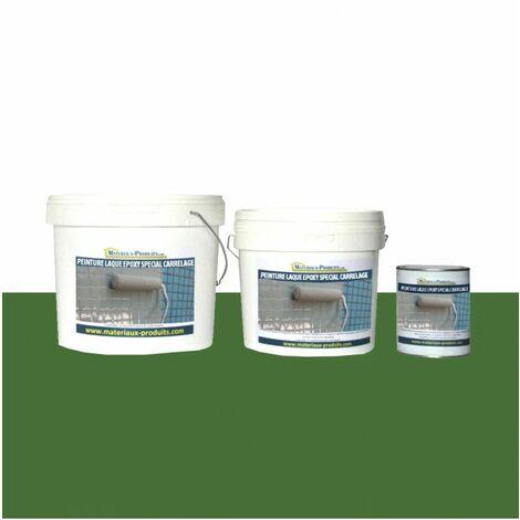 Peinture Laque Epoxy Spécial Carrelage Vert Gazon