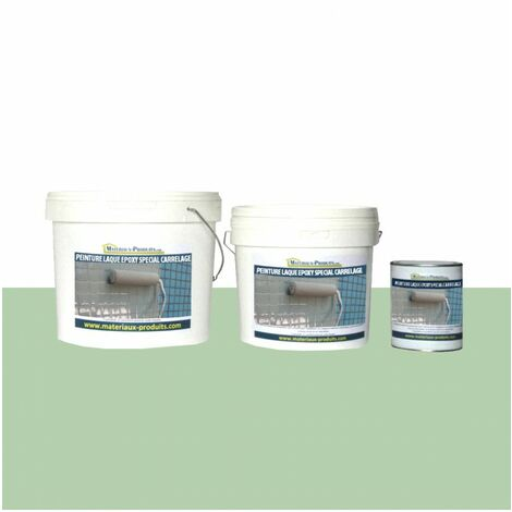 Peinture Laque Epoxy Spécial Carrelage Vert Pastel 1 Kg Peint4590