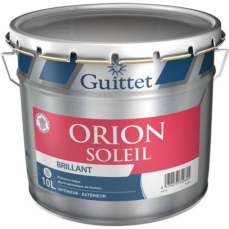 Peinture-Laque glycéro Guittet Orion Soleil brillant 10L | Finition: Brillante - Couleur: Blanc