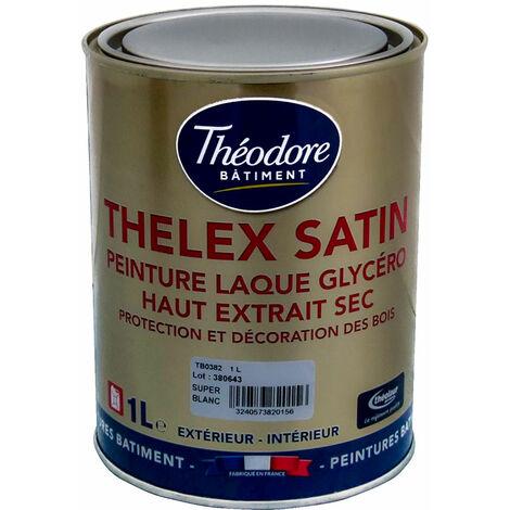 """main image of """"Peinture laque glycéro intérieure/extérieure de haute qualité pour bois, boiseries et meubles : Thelex satin"""""""