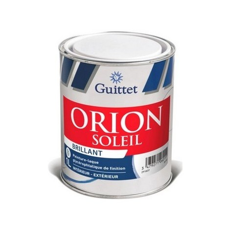 Peinture Laque GUITTET Orion Soleil Brillant BLANC