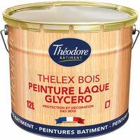 Peinture laque microporeuse glycéro pour la protection et la décoration des bois intérieurs et extérieurs : Thelex Bois