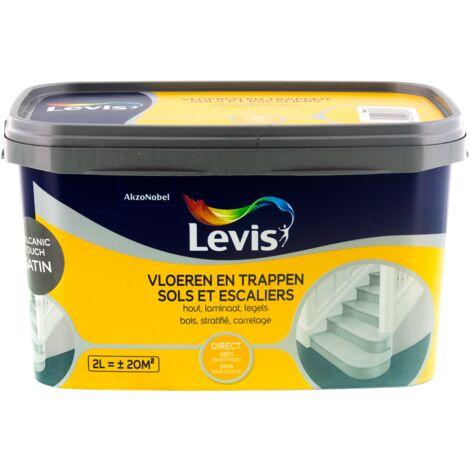 Peinture Levis - 'Sols et Escaliers' volcanic touch Satin 2L
