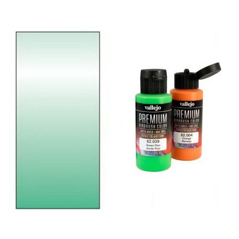 Peinture Lexan Vallejo RC Color Metallic Green