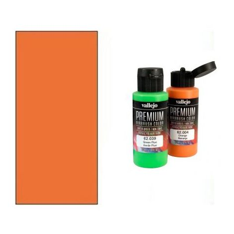 Peinture Lexan Vallejo RC Color Orange