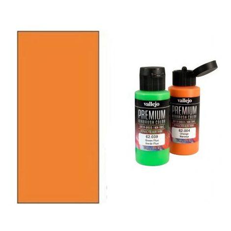 Peinture Lexan Vallejo RC Color Orange Fluo