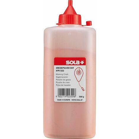 Peinture marquage au sol Sola rouge 500g