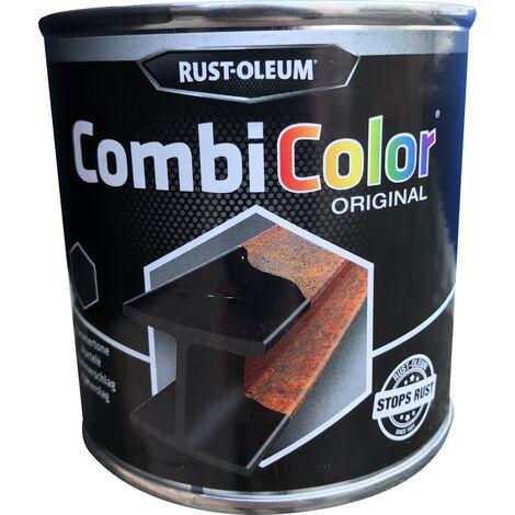 Peinture martelée Rust-Oleum 'Combi Color' Noir - 250ml