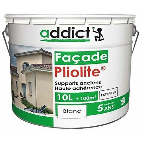 Peinture Mat pour façade à base de résine Pliolite - Addict