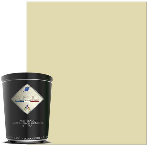 Peinture mate idéale pour vos murs et plafonds de toutes vos pièces, salle de bain et cuisine incluses. - Couleur : Blanc - Tembo