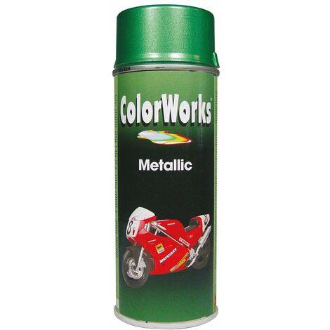 Peinture métallisée aérosol