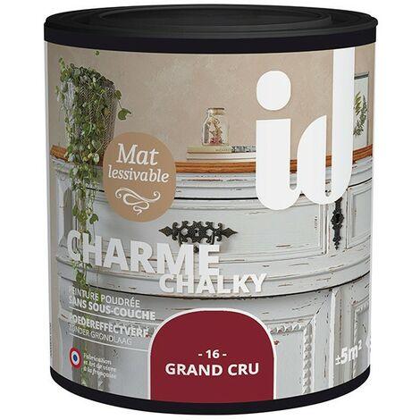 Peinture meubles et boiseries CHARME 500ML GRAND CRU - ID Paris