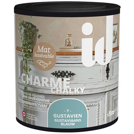 Peinture meubles et boiseries CHARME 500ML GUSTAVIEN - ID Paris