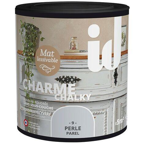 Peinture meubles et boiseries CHARME 500ML PERLE - ID Paris