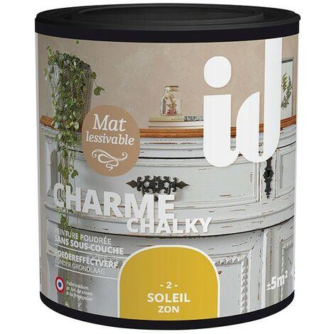Peinture meubles et boiseries CHARME 500ML SOLEIL - ID Paris