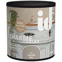 Peinture meubles et boiseries CHARME 500ML TAUPE - ID Paris
