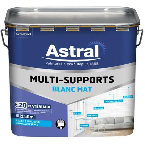 Peinture Multi-matériaux mat Blanc Base W 5L