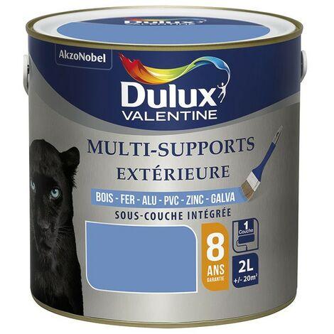 Peinture multi-supports extérieure 0,5L DULUX VALENTINE acrylique - plusieurs modèles disponibles