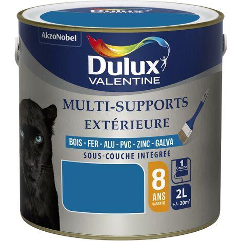Peinture Multi-Supports Extérieure Satin Bleu Breton 2 L - Dulux Valentine