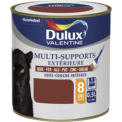 """main image of """"Peinture Multi-Supports Extérieure Satin Ton Bois (RAL 8015) 0,5 L - Dulux Valentine"""""""