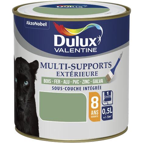 Peinture Multi-Supports Extérieure Satin Vert Provence 0,5 L - Dulux Valentine