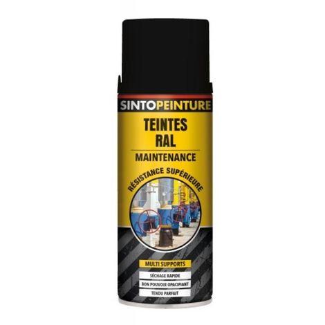 Peinture multi supports Sintopeinture Pro gris anthracite RAL 7016 brillant aérosol de 400 ml - Gris anthracite RAL 7016 - Gris anthracite RAL 7016