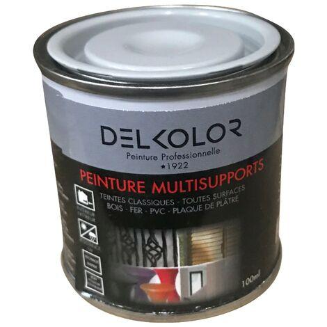 Peinture multisupports RAL 7001 Gris argent 100ml | Couleur: Gris argent RAL 7001