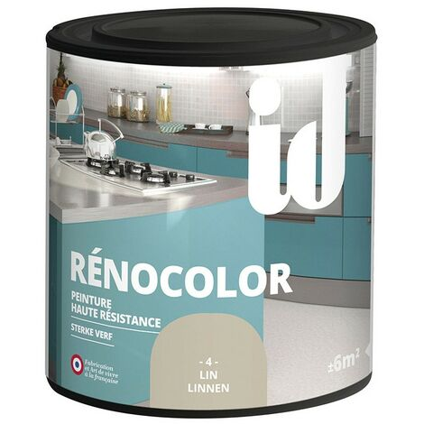 Peinture multisurface RENOCOLOR LIN 450ML - ID Paris