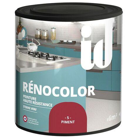 Peinture multisurface RENOCOLOR PIMENT 450ML - ID Paris