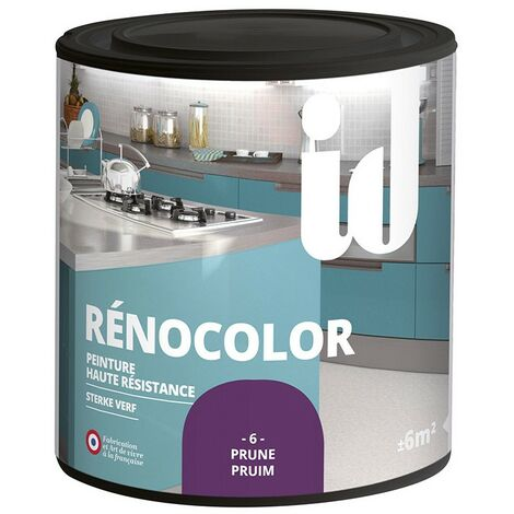 Peinture multisurface RENOCOLOR PRUNE 450ML - ID Paris