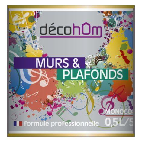 Peinture murale Ardoise DECOHOM S 6005-R50B