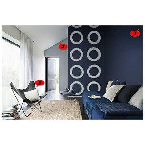 Peinture murale Mat Acrylique / Intérieur application facile très opacifiant séchage rapide / couleurs au choix sans odeur - 12 Blanc - 15 Litres. - 12 Blanc